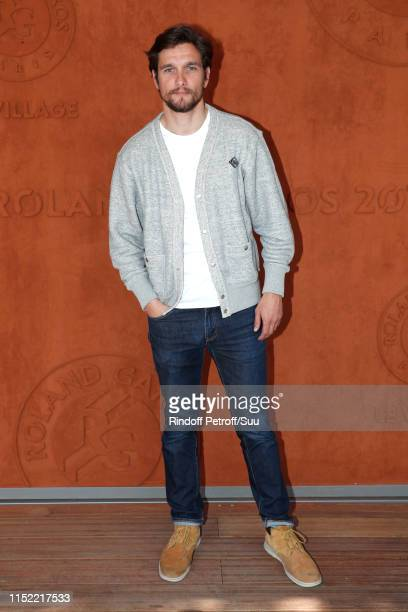 Actor Lionel Erdogan attends the 2019 French Tennis Open - Day Three at Roland Garros on May 28, 2019 in Paris, France.