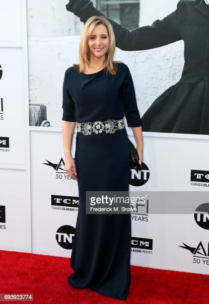 Actor Lisa Kudrow arrives at American Film Institute's 45th Life Achievement Award Gala Tribute to Diane Keaton at Dolby Theatre on June 8 2017 in...