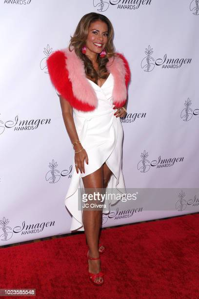 Actor Lisa Vidal attends the 33rd Annual Imagen Awards at JW Marriott Los Angeles at LA LIVE on August 25 2018 in Los Angeles California