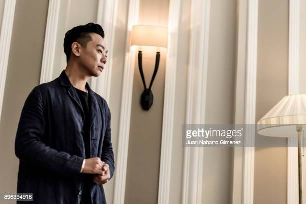 Actor Liu Zhengkai poses during a portrait session at Maria Cristina Hotel during 65th San Sebastian International Film Festival on September 27 2017...