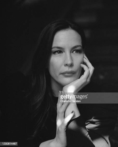 Actor Liv Tyler is photographed for the New York Times magazine on July 1 2019 in London England
