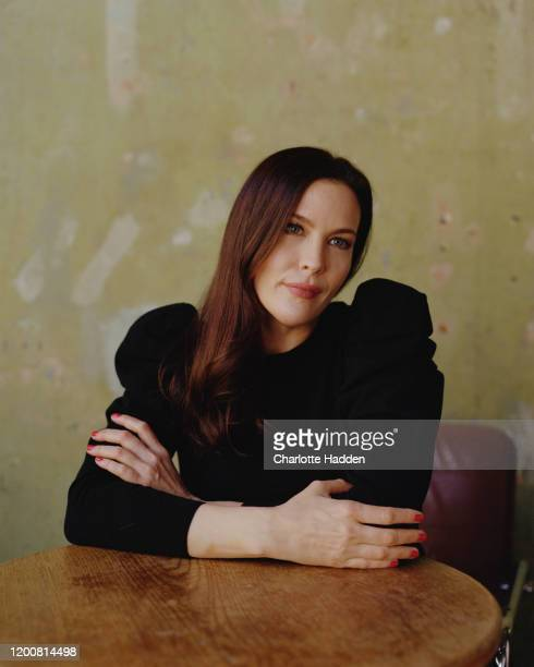 Actor Liv Tyler is photographed for the New York Times magazine on July 1 2020 in London England