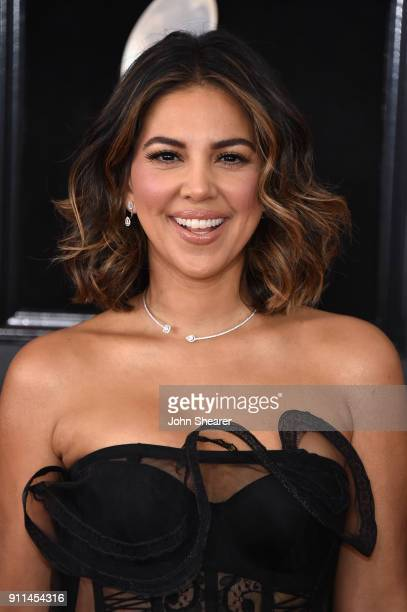 Actor Liz Hernandez attends the 60th Annual GRAMMY Awards at Madison Square Garden on January 28 2018 in New York City