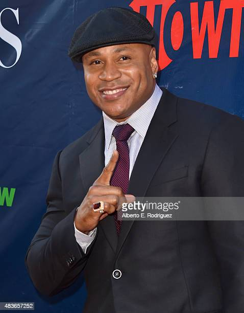 Actor LL Cool J attends CBS' 2015 Summer TCA party at the Pacific Design Center on August 10 2015 in West Hollywood California