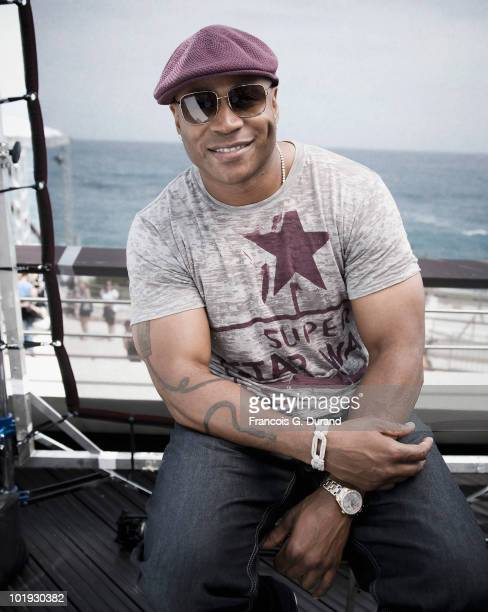 ACCESS*** Actor LL Cool J attends the ' Ncis Los Angeles ' portrait session at Grimaldi Forum during the annual Monte Carlo Television Festival on...
