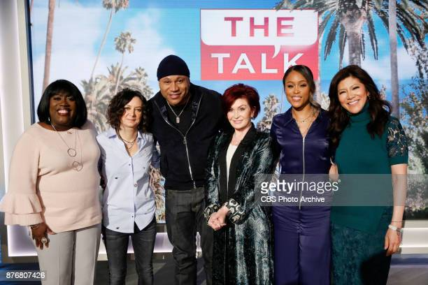 Actor LL COOL J discusses CBS' 'NCIS Los Angeles' celebrating 200 episodes on 'The Talk' Thursday November 16 2017 on the CBS Television Network...