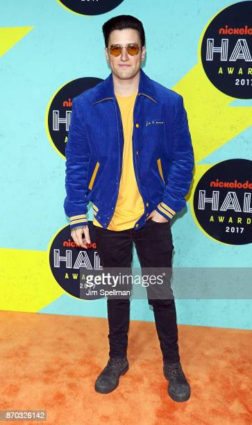 Actor Logan Henderson attends the Nickelodeon Halo Awards 2017 at Pier 36 on November 4 2017 in New York City