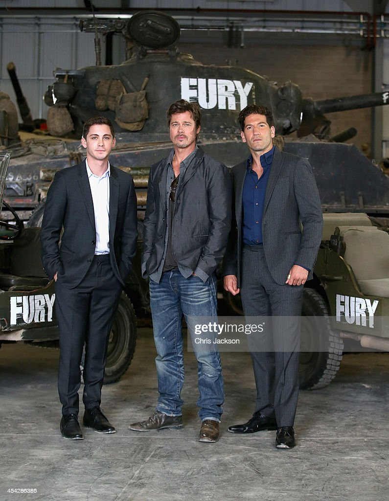 """Fury"" Photo Call At The Tank Museum In Bovington, England : News Photo"
