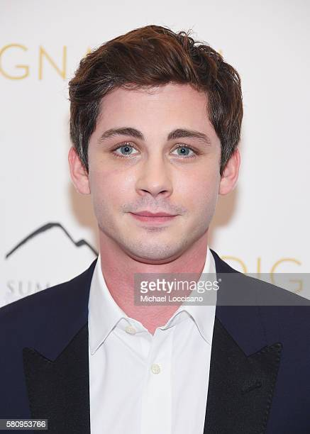 Actor Logan Lerman attends the Indignation New York premiere at the Museum of Modern Art on July 25 2016 in New York City
