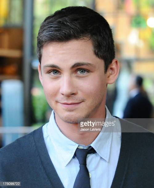 Actor Logan Lerman attends the premiere of Percy Jackson Sea Of Monsters at The Americana at Brand on July 31 2013 in Glendale California