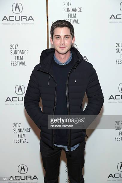 Actor Logan Lerman attends the Sidney Hall Party at the Acura Studio at Sundance Film Festival 2017 on January 25 2017 in Park City Utah