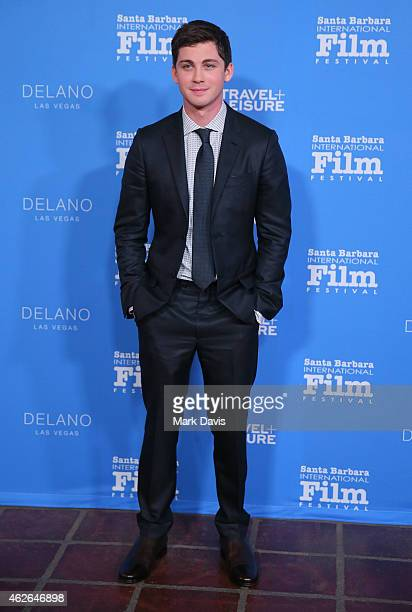 Actor Logan Lerman attends the Virtuosos Award at the 30th Santa Barbara International Film Festival at the Arlington Theater on February 1 2015 in...