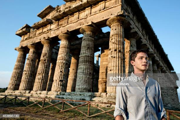 Actor Logan Lerman is photographed for Vanity Fair Italy in Naples Italy