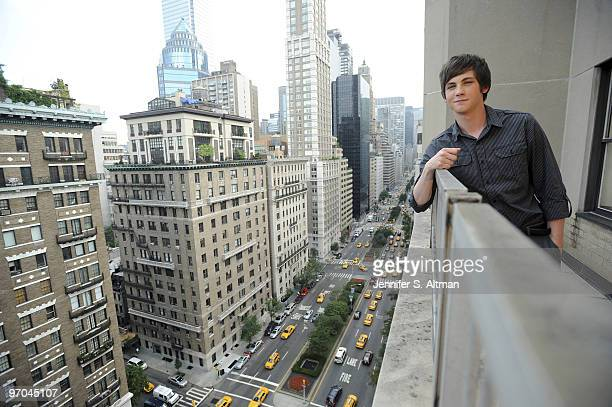 Actor Logan Lerman is photographed in New York for the Los Angeles Times