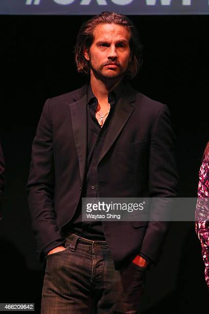 Actor Logan MarshallGreen attends the premiere of 'The Invitation' during the 2015 SXSW Music Film Interactive Festival at Stateside Theater on March...