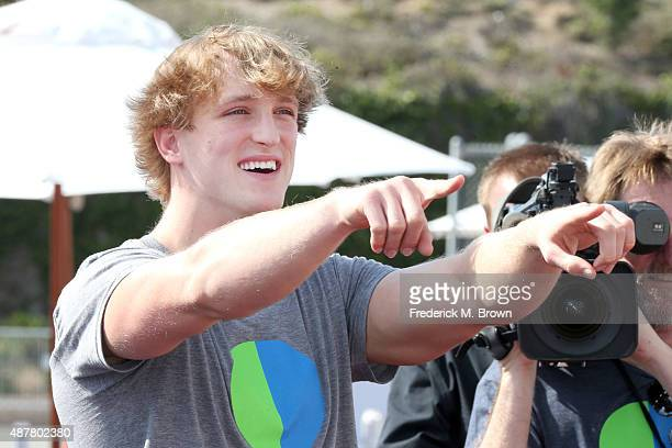 Actor Logan Paul attends the Think It Up education initiative telecast for teachers and students hosted by Entertainment Industry Foundation at...