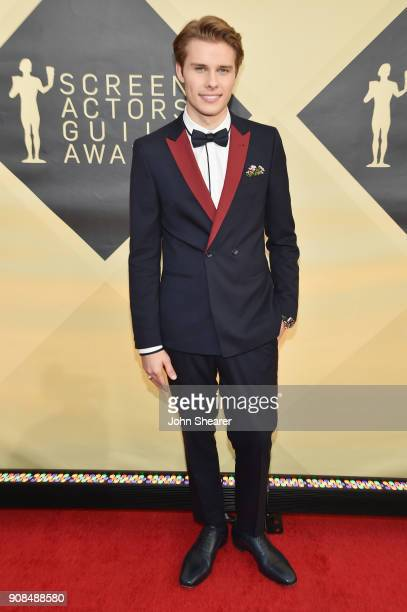 Actor Logan Shroyer attends the 24th Annual Screen Actors Guild Awards at The Shrine Auditorium on January 21 2018 in Los Angeles California