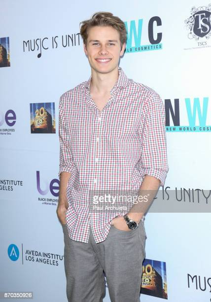 Actor Logan Shroyer attends the 8th annual 'Movies By Kids' screening and awards show at Fox Studios on November 4 2017 in Los Angeles California