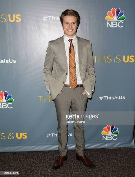 Actor Logan Shroyer attends the finale screening of This Is Us at Directors Guild Of America on March 14 2017 in Los Angeles California