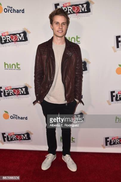 Actor Logan Shroyer attends the premiere Of Orchard And Fine Brothers Entertainment's 'F*% The Prom' at ArcLight Hollywood on November 29 2017 in...
