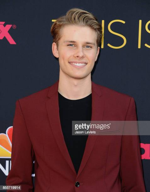 Actor Logan Shroyer attends the season 2 premiere of 'This Is Us' at NeueHouse Hollywood on September 26 2017 in Los Angeles California
