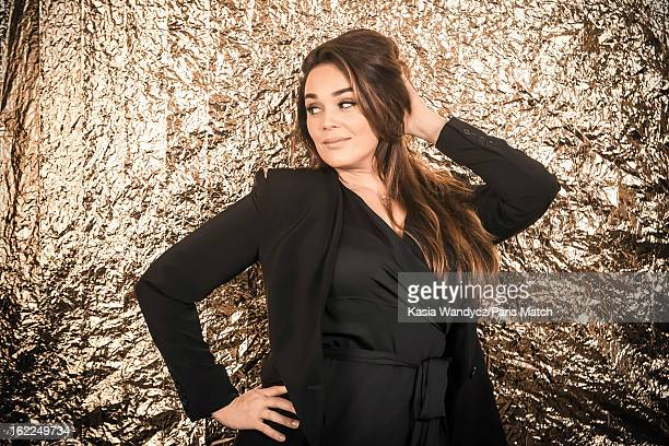 Actor Lola Dewaere is photographed for Paris Match on February 2 2012 in Paris France