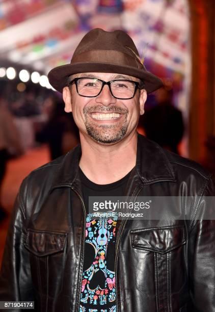 Actor Lombardo Boyar at the US Premiere of DisneyPixar's 'Coco' at the El Capitan Theatre on November 8 in Hollywood California