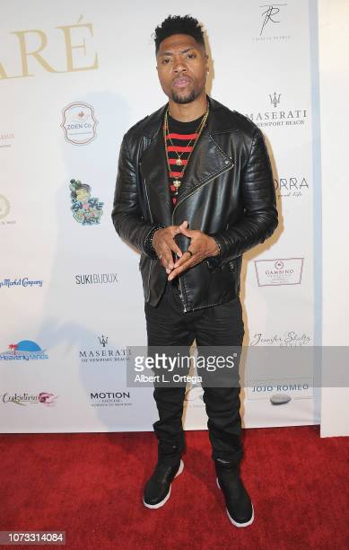 Actor London Brown attends the Amare's Second Year Anniversary 'Believe Issue' Party held at Sofitel Los Angeles At Beverly Hills on December 13 2018...