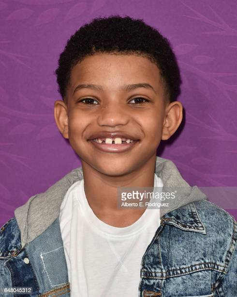 Actor Lonnie Chavis attends a screening of Disney Channel's 'Tangled Before Ever After' at The Paley Center for Media on March 4 2017 in Beverly...
