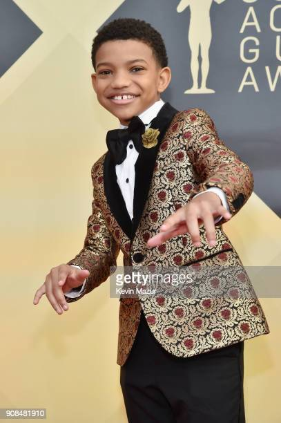 Actor Lonnie Chavis attends the 24th Annual Screen Actors Guild Awards at The Shrine Auditorium on January 21 2018 in Los Angeles California 27522_007