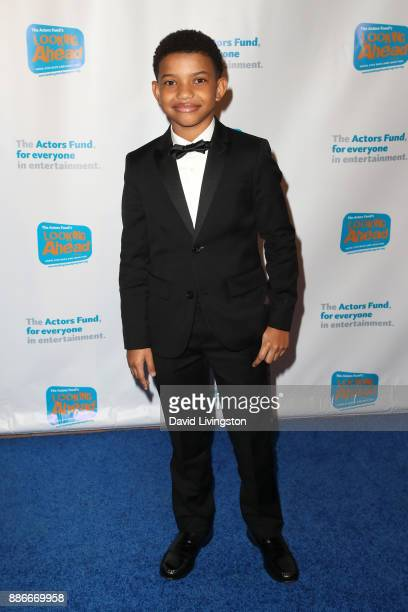 Actor Lonnie Chavis attends The Actors Fund's 2017 Looking Ahead Awards honoring the youth cast of NBC's 'This Is Us' at Taglyan Complex on December...
