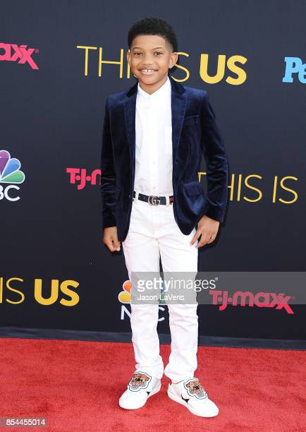 Actor Lonnie Chavis attends the season 2 premiere of 'This Is Us' at NeueHouse Hollywood on September 26 2017 in Los Angeles California