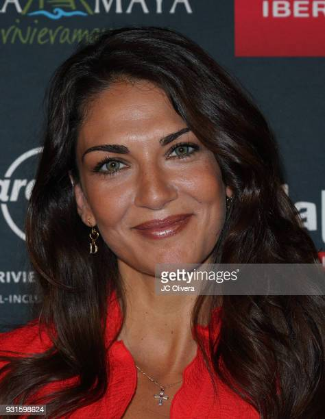 Actor Lorena Bernal attends the 5th Annual Premios PLATINO Of Iberoamerican Cinema Nominations Announcement at Hollywood Roosevelt Hotel on March 13...