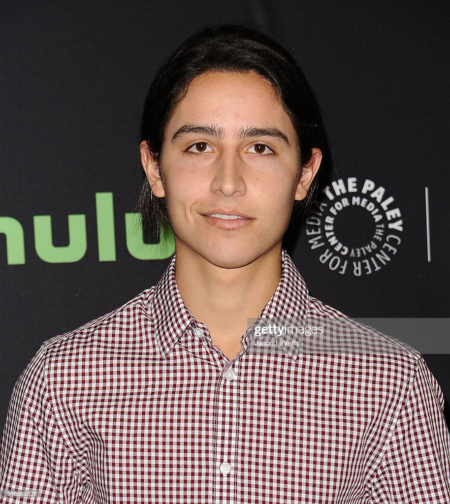 Actor Lorenzo James Henrie attends the 'Fear The Walking Dead' event at the 33rd annual PaleyFest at Dolby Theatre on March 19, 2016 in Hollywood, California.