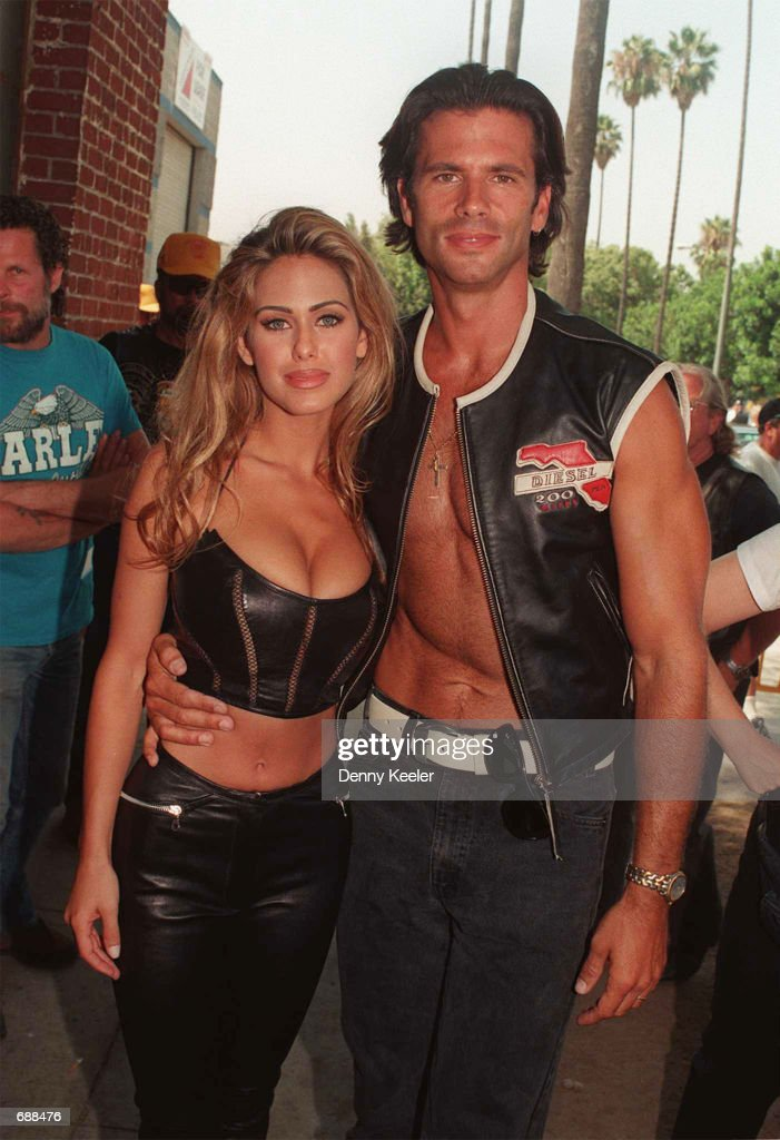 Lorenzo Lama With Wife Shauna Sands News Photo