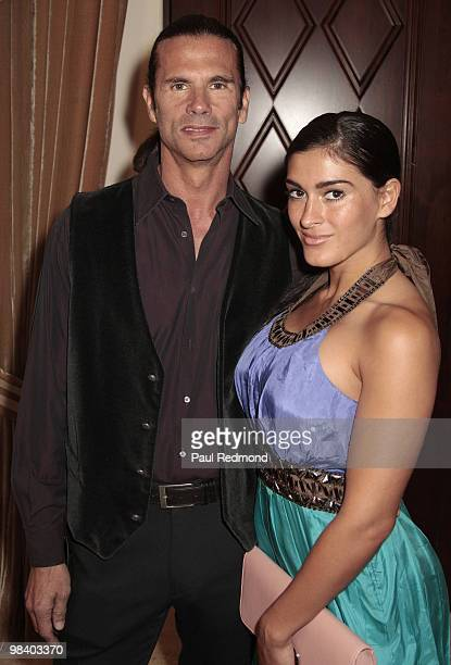 Actor Lorenzo Lamas and fiance Shawna Craig attends the 17th Annual MMPA Oscar Week Student Filmmakers Luncheon at Montage Beverly Hills on March 5...