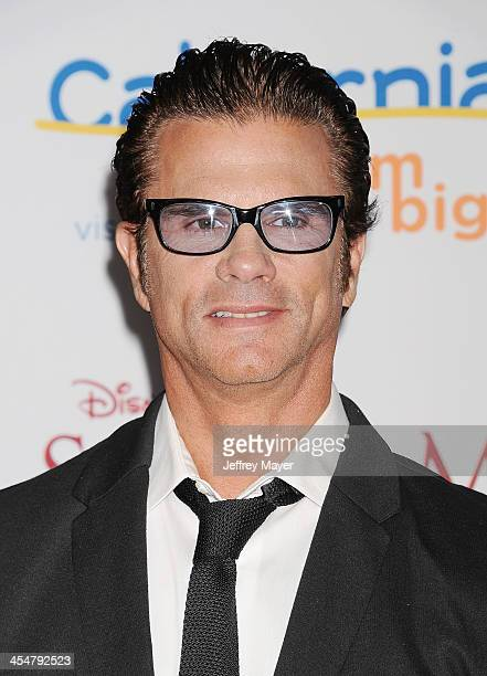 Actor Lorenzo Lamas arrives at the 'Saving Mr Banks' Los Angeles Premiere at Walt Disney Studios on December 9 2013 in Burbank California