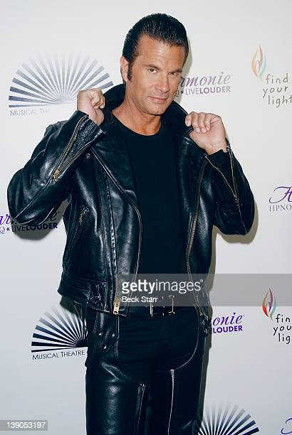 Actor Lorenzo Lamas arrives to perform in Joseph And The Amazing Technicolor Dreamcoat hosted by Musical Theater Of Los Angeles at Saban Theatre on...