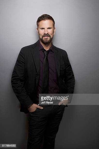 Actor Lorenzo Lamas is photographed for TV Guide Magazine on January 16, 2015 in Pasadena, California.