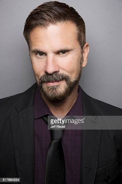 Actor Lorenzo Lamas is photographed for TV Guide Magazine on January 16 2015 in Pasadena California