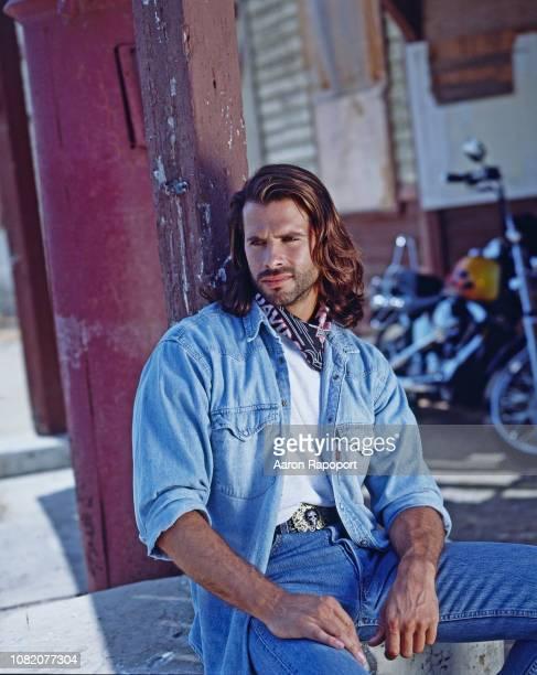 Actor Lorenzo Lamas poses for a portrait circa 1995 in Los Angeles, California