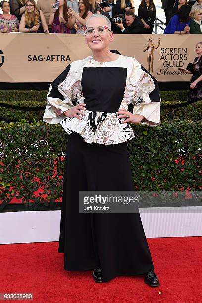 Actor Lori Petty attends the 23rd Annual Screen Actors Guild Awards at The Shrine Expo Hall on January 29, 2017 in Los Angeles, California.