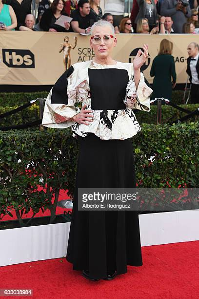 Actor Lori Petty attends the 23rd Annual Screen Actors Guild Awards at The Shrine Expo Hall on January 29 2017 in Los Angeles California