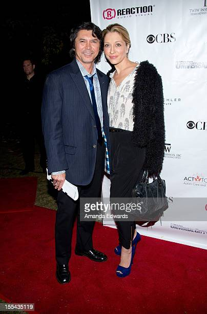 Actor Lou Diamond Phillips and his wife Yvonne Boismier Phillips arrive at the ACT Today's 7th Annual Denim Diamonds For Autism Benefit on November 3...