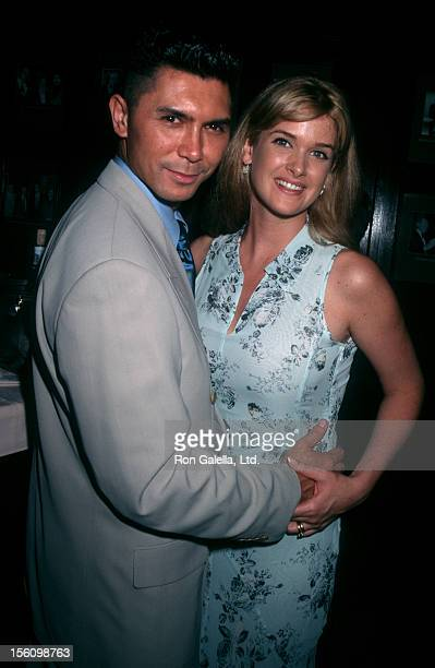 Actor Lou Diamond Phillips and wife Kelly Preston attending 50th Anniversary Gala for Tony Awards on May 20 1996 at the New York Friars Club in New...