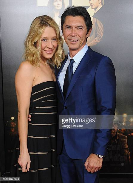 Actor Lou Diamond Phillips and wife Yvonne Boismier Phillips arrive at the AFI FEST 2015 Presented By Audi Centerpiece Gala Premiere of The 33 at TCL...