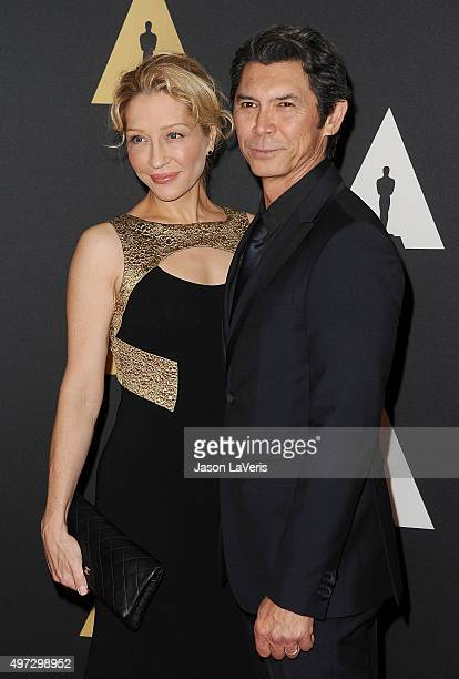 Actor Lou Diamond Phillips and wife Yvonne Boismier Phillips attend the 7th annual Governors Awards at The Ray Dolby Ballroom at Hollywood Highland...