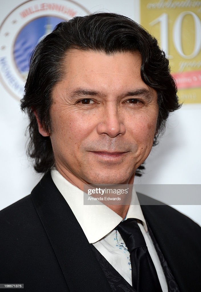 Actor Lou Diamond Phillips arrives at the 10th Annual Opening Doors Awards benefiting the Millennium Momentum Foundation at Dorothy Chandler Pavilion on November 16, 2012 in Los Angeles, California.