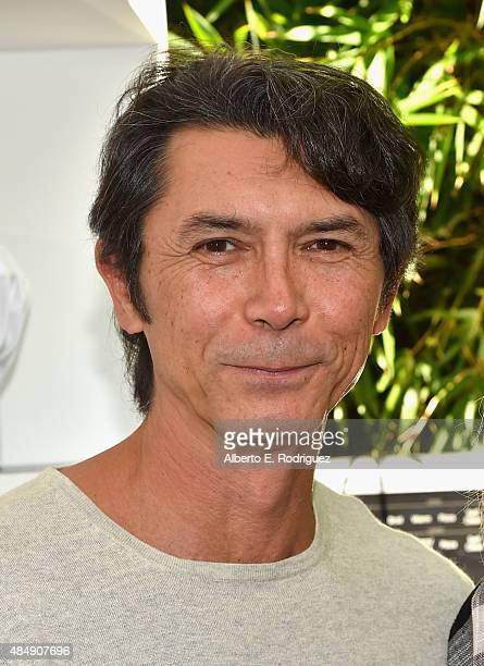 Actor Lou Diamond Phillips attends Eva Longoria and LG Electronics Host 'Fam To Table' Series at The Washbow on August 22 2015 in Culver City...