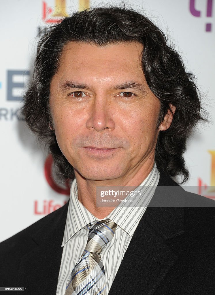 Actor Lou Diamond Phillips attends the A+E Networks 2013 Upfront at Lincoln Center on May 8, 2013 in New York City.